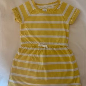 Baby Gap Girl's Yellow Striped Dress